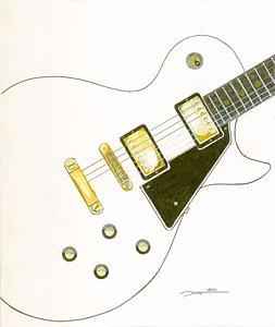 253x300 Les Paul Guitar Drawings