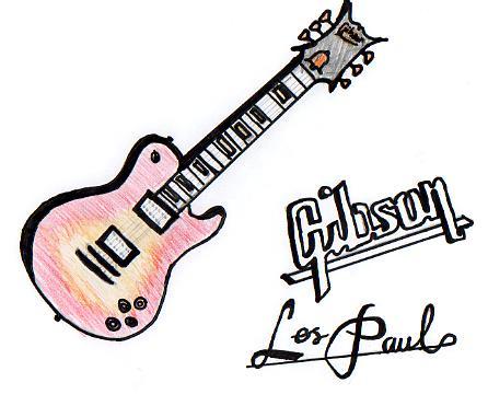 446x371 Sunburst Gibson Les Paul By Ginger Baines