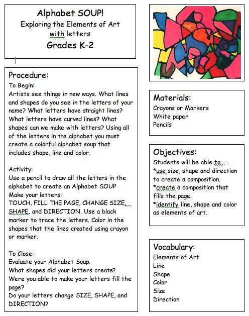 color lesson plan