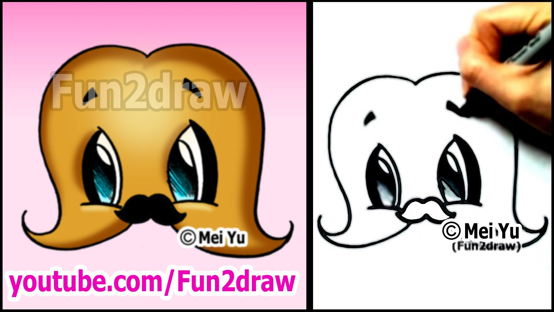 1920x1080 Mustache With A Mustache!