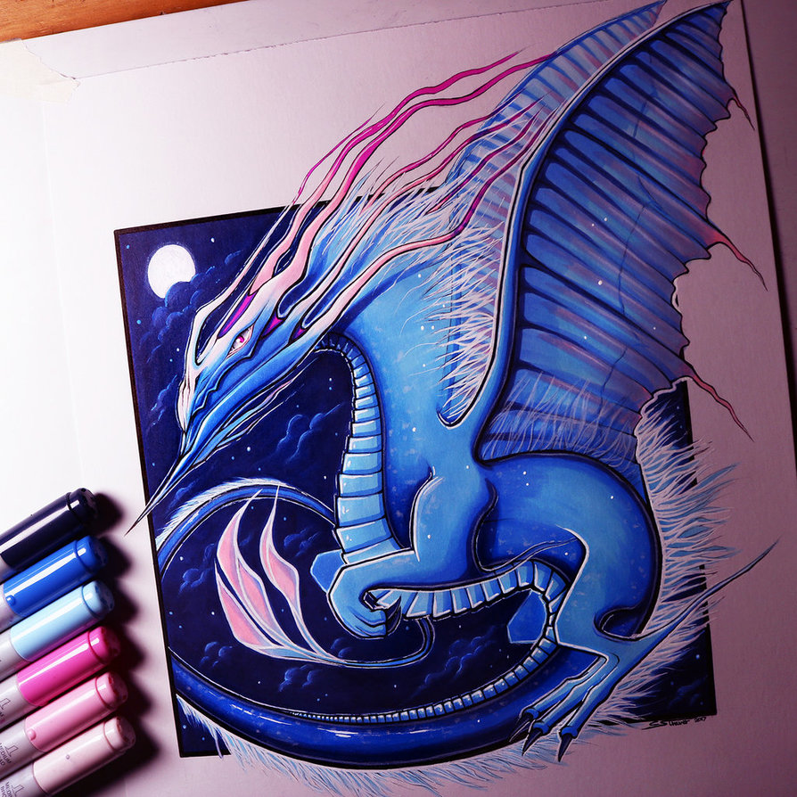 894x894 Air Dragon Drawing By Lethalchris