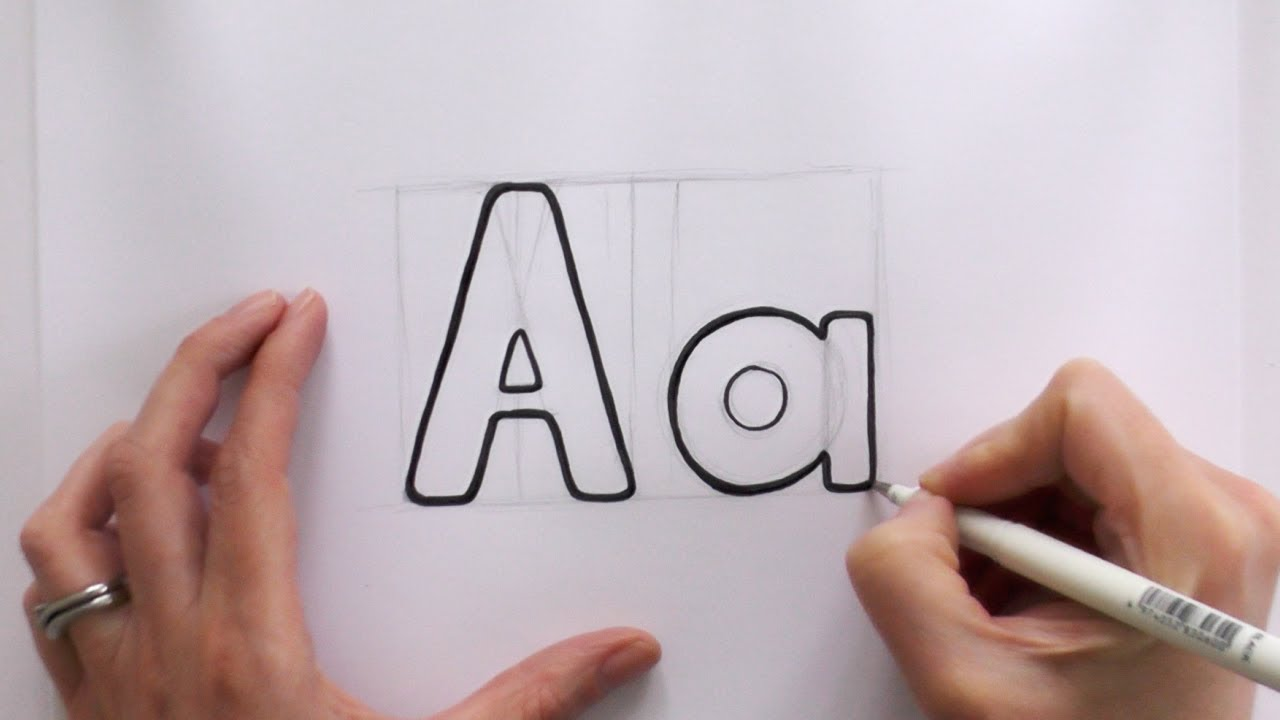 1280x720 How To Draw Cartoon Letternd