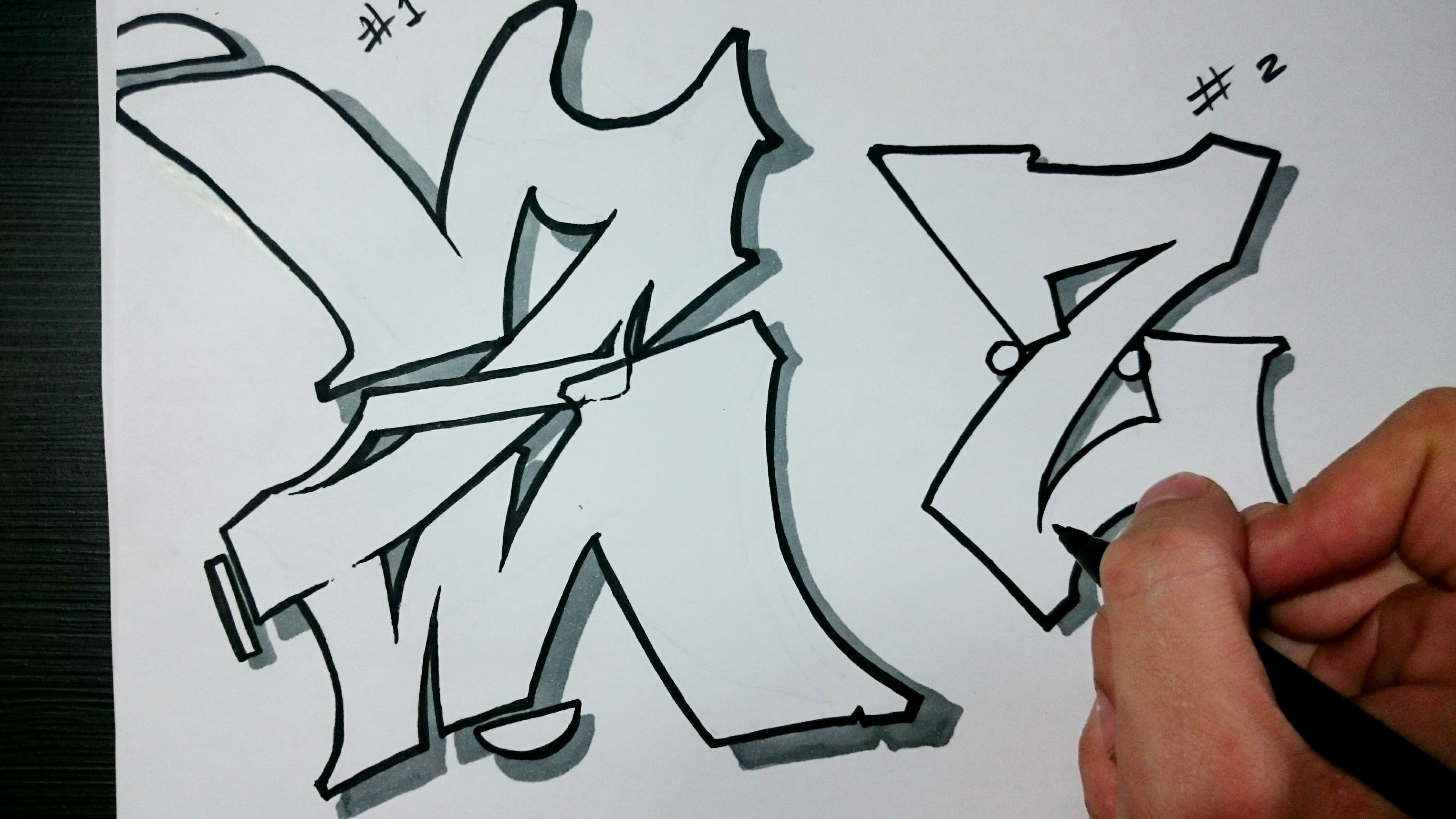 3052x1717 Art Drawing Graffiti A To Z In 3d How To Draw Graffiti Letter Z