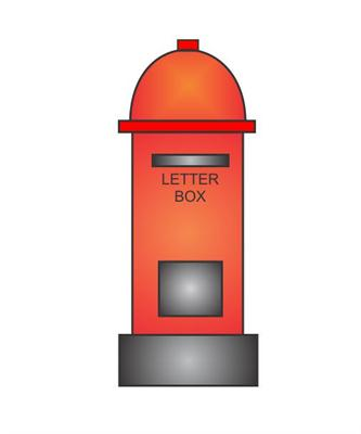 333x400 How To Draw A Letter Box In Some Easy Steps