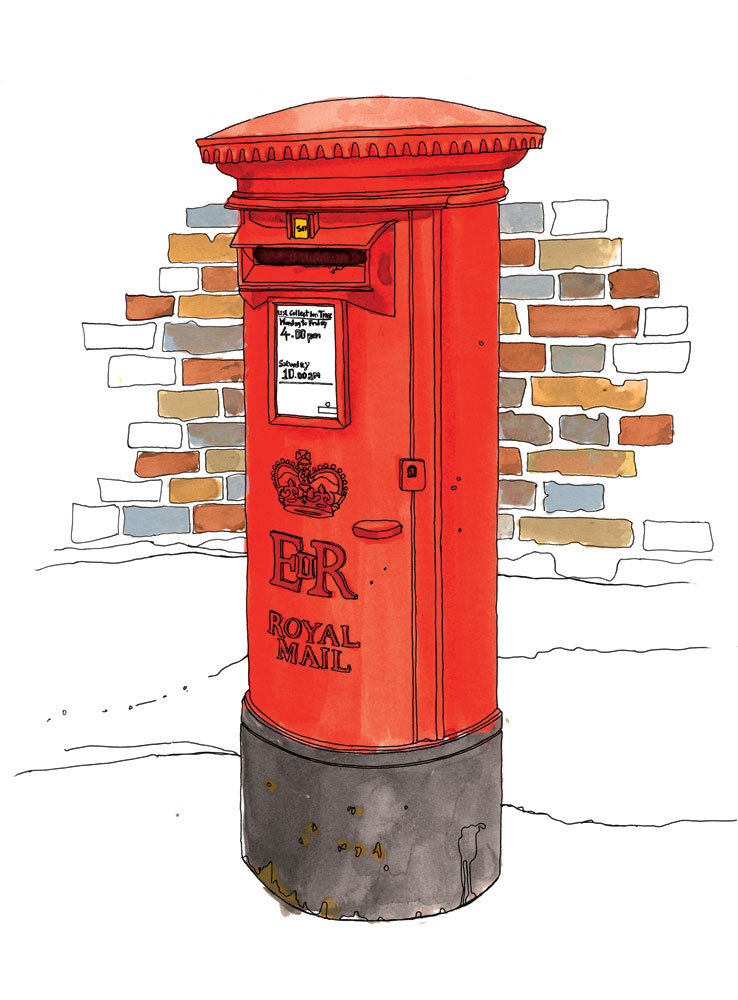 738x1000 Postbox Illustration By Emma Kelly
