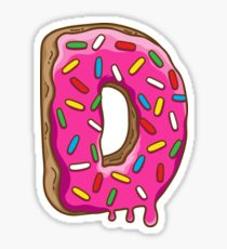210x230 Letter D Drawing Stickers Redbubble