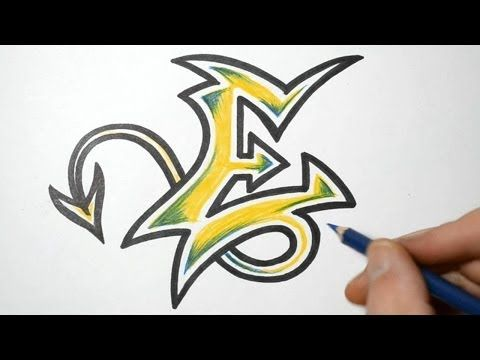 480x360 How To Do Graffiti Writing