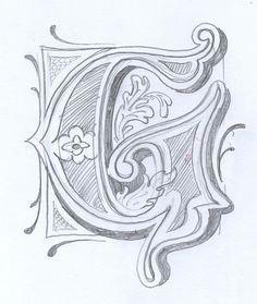 236x279 G Alphabetsletter Stylesfonts On Calligraphy