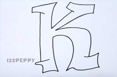 500x330 graffiti letter k graffiti sample