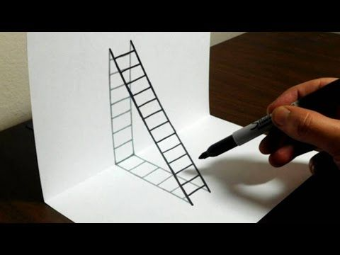 480x360 How To Draw 3d Letter M