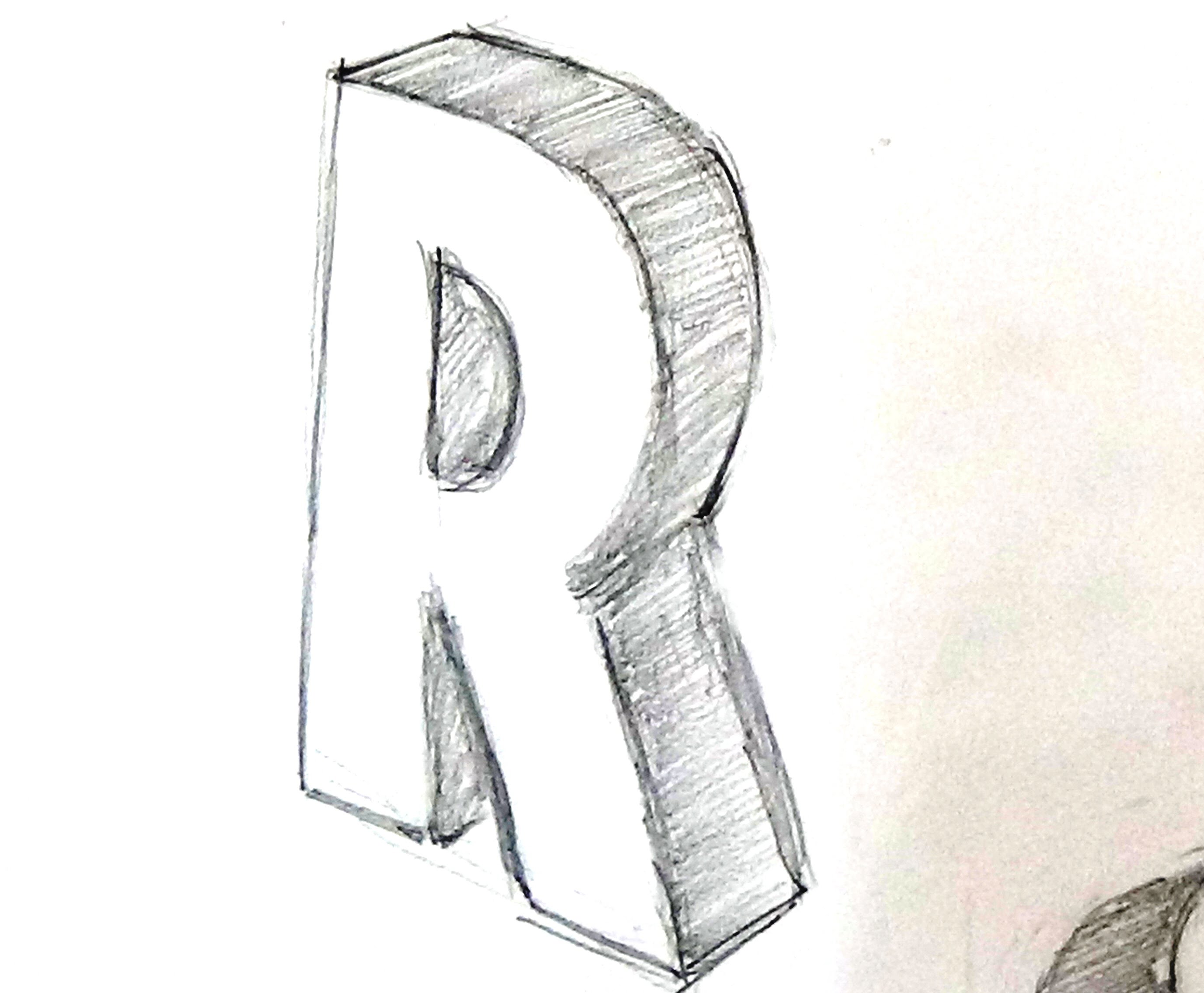 2754x2272 How To Write A 3d Letter R