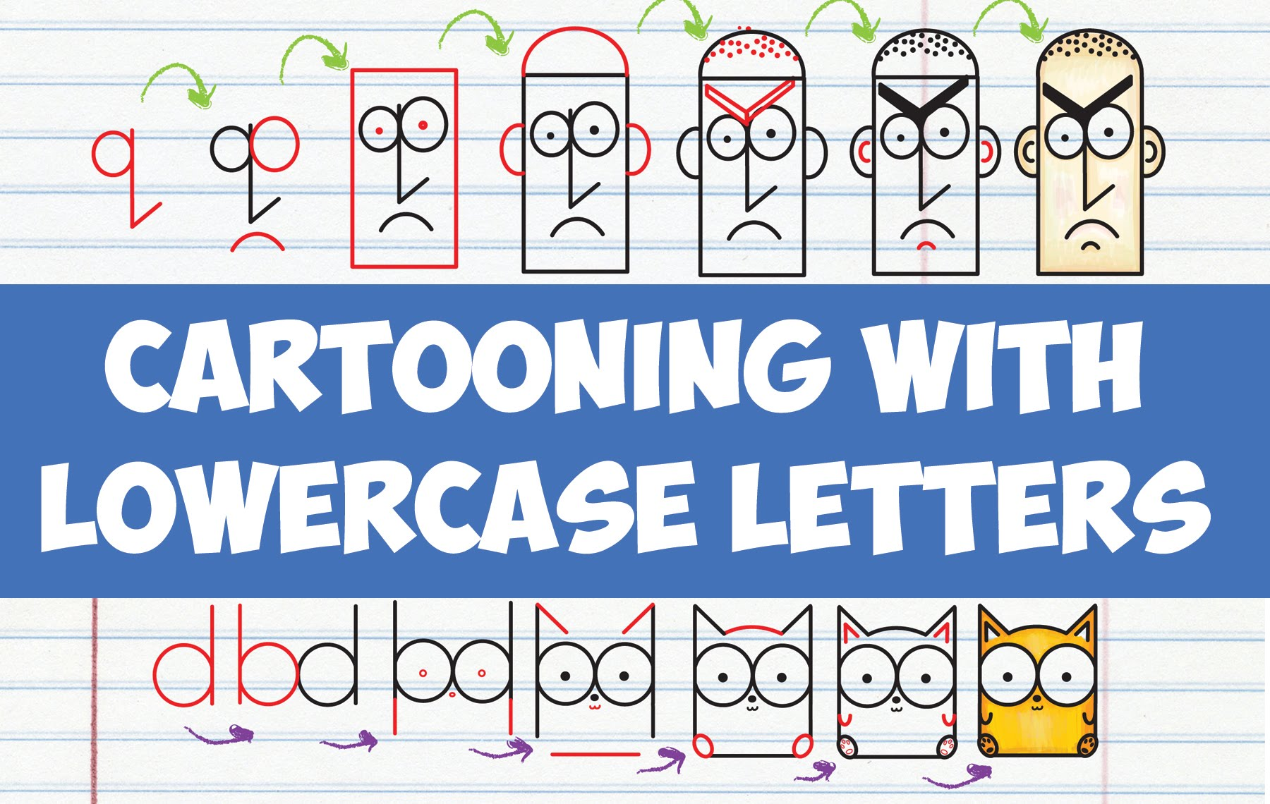 1800x1140 How To Draw Cute Cartoons Letters Drawing Cartooning
