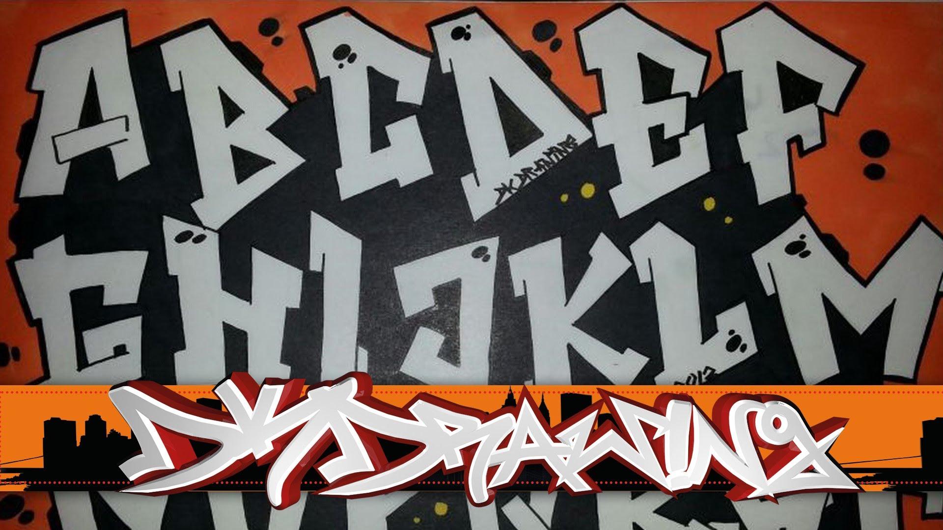 1920x1080 Graffiti Alphabet