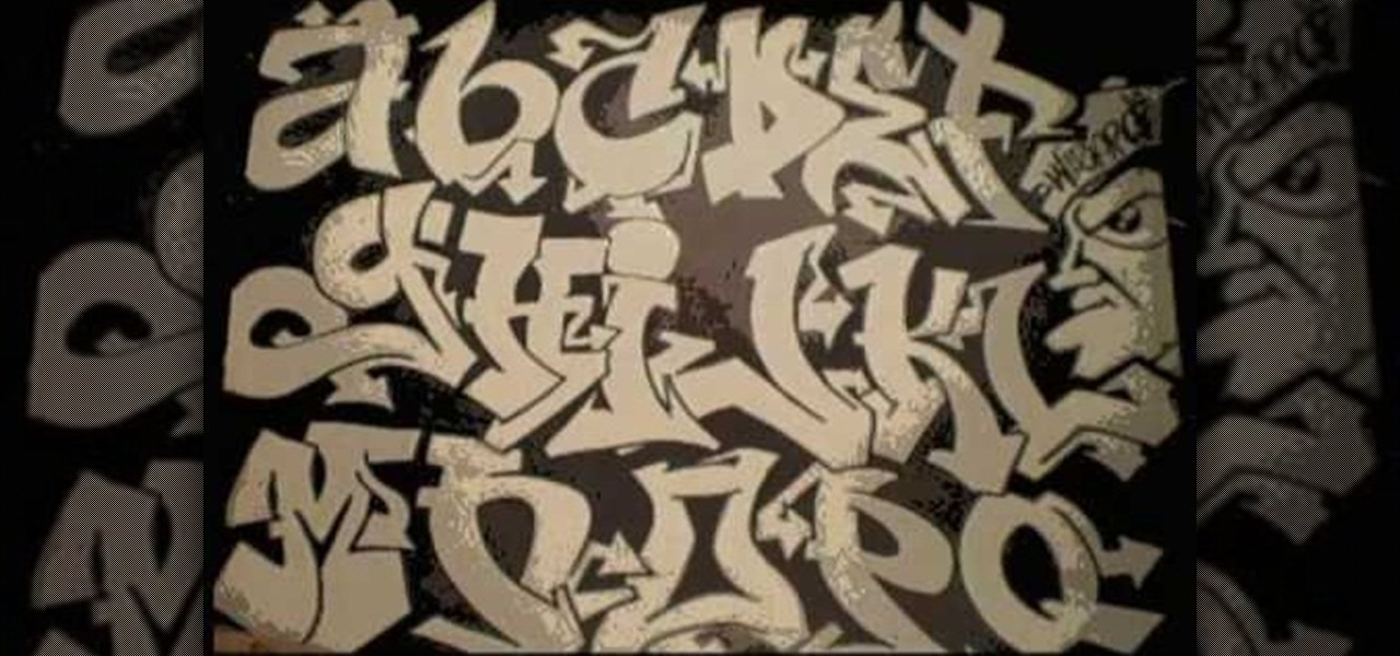 1280x600 How To Draw A Graffiti Alphabet For Beginners Graffiti Amp Urban