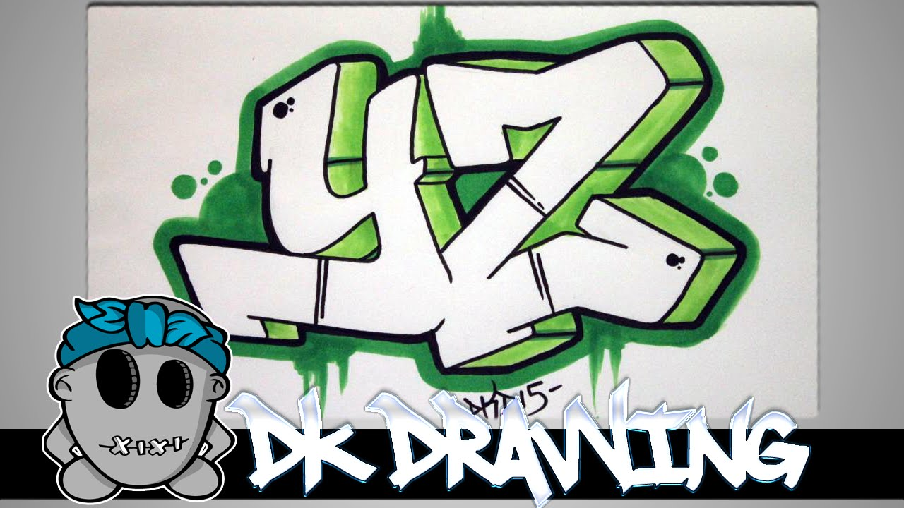 1280x720 How To Draw Graffiti