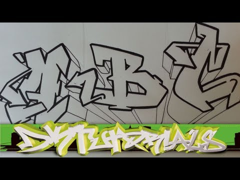 480x360 How To Draw Graffiti Wildstyle