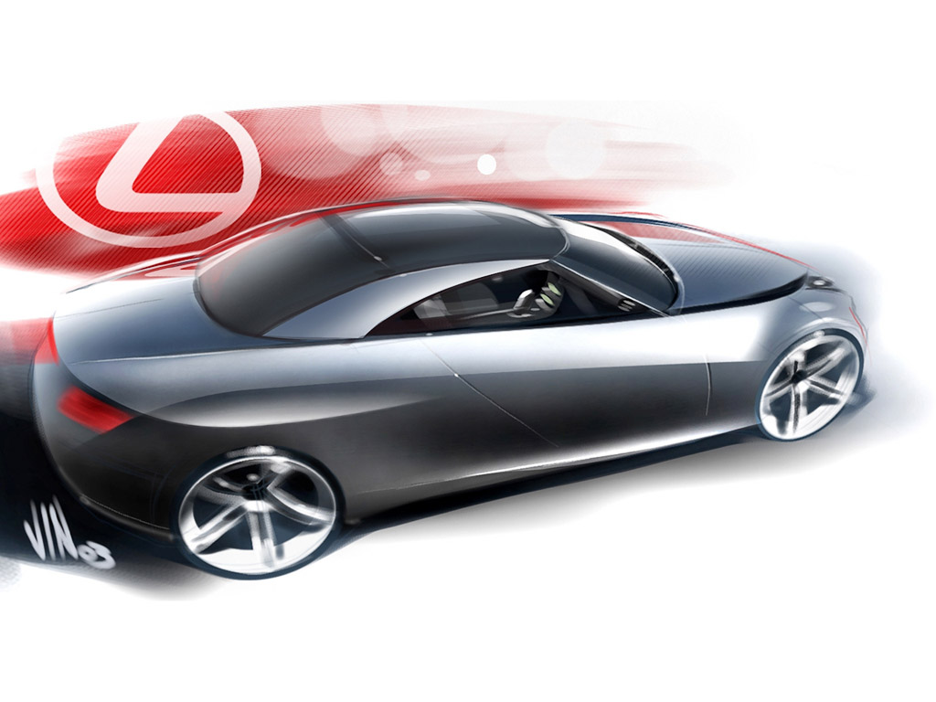 1024x768 2004 Lexus Lf C Concept