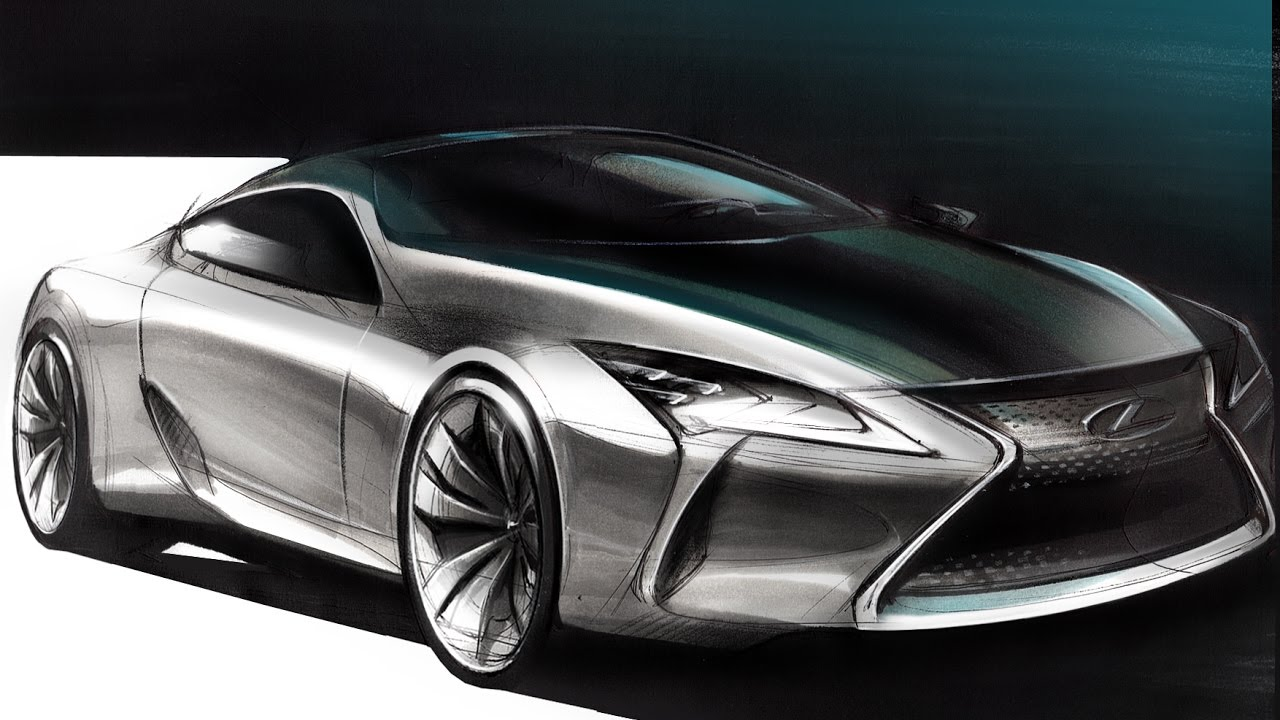 1280x720 Car Design Sketch Amp Drawing