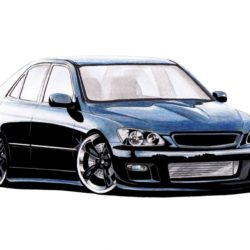 250x250 Lexus Drawing, Pencil, Sketch, Colorful, Realistic Art Images
