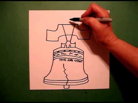 480x360 Let's Draw The Liberty Bell!
