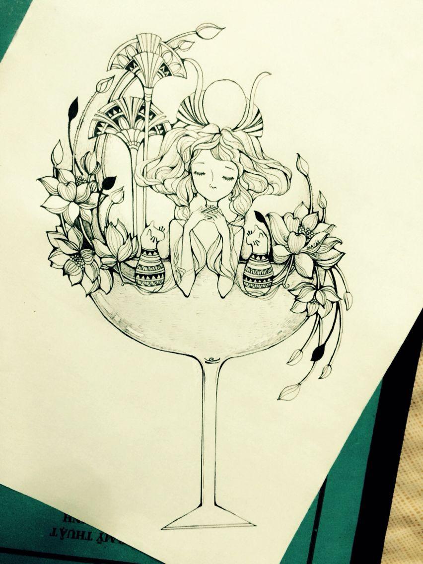 852x1136 Libra ( Draw By Me ) Draw By Me