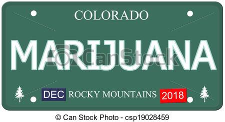 450x245 Marijuana Colorado License Plate. A Fake Colorado License Stock