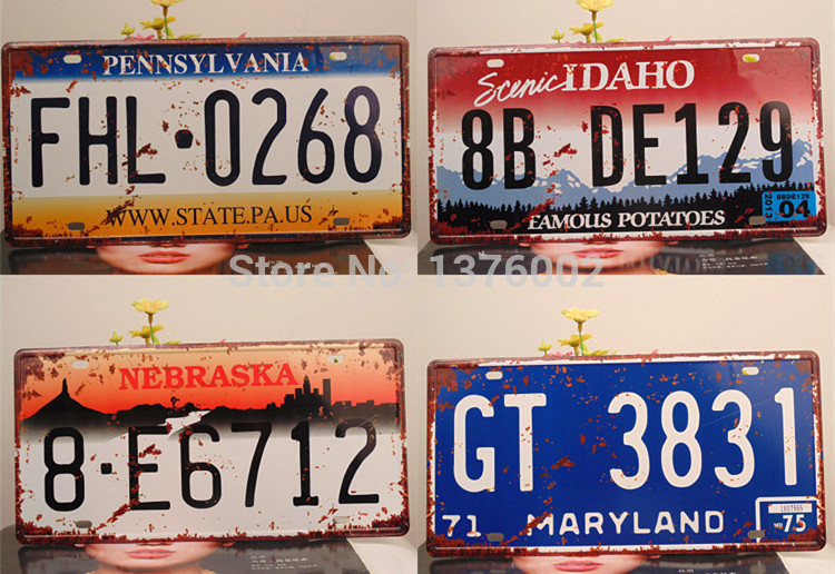 750x516 Style Restoring Ancient Ways The Old The License Plate Car Number