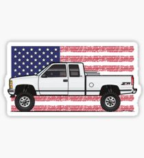 210x230 Lifted Truck Stickers Redbubble