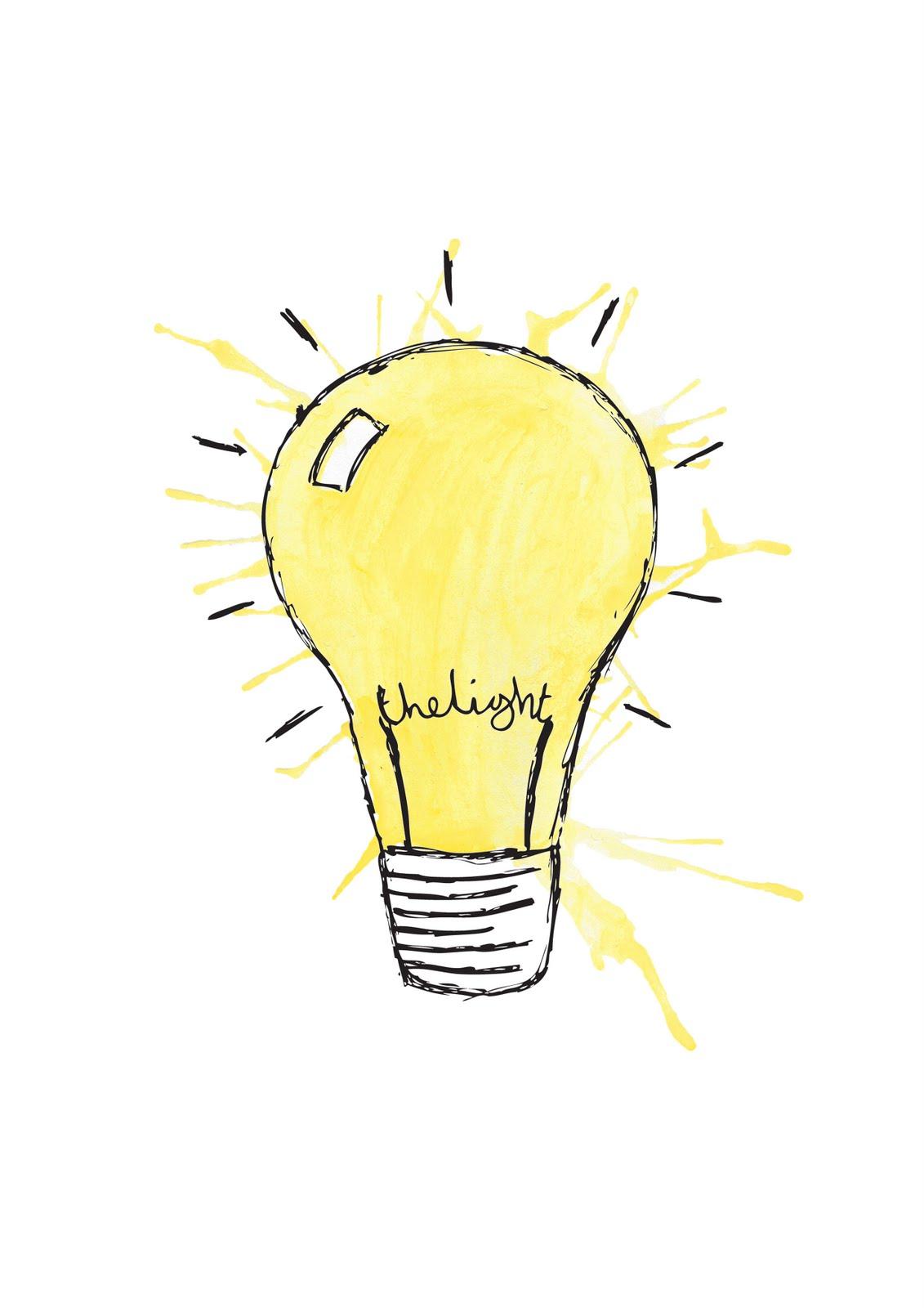 1131x1600 Light Bulb Drawing