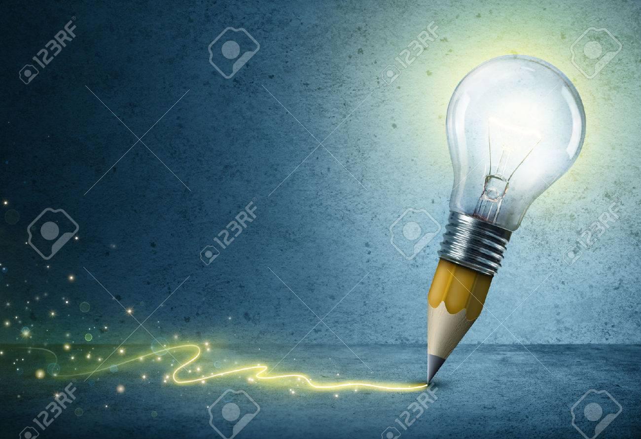 1300x890 Light Bulb Pencil Drawing