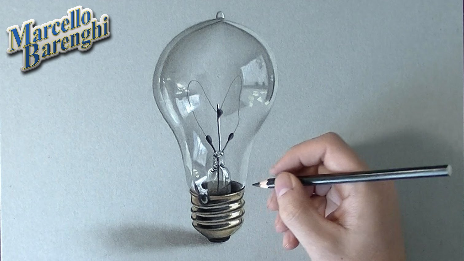 1512x851 Speed Drawing 3d Lightbulb