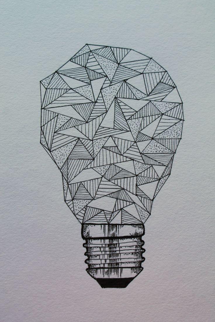 736x1104 Fish Drawing In Light Bulb Pencil Drawing Best Light Bulb