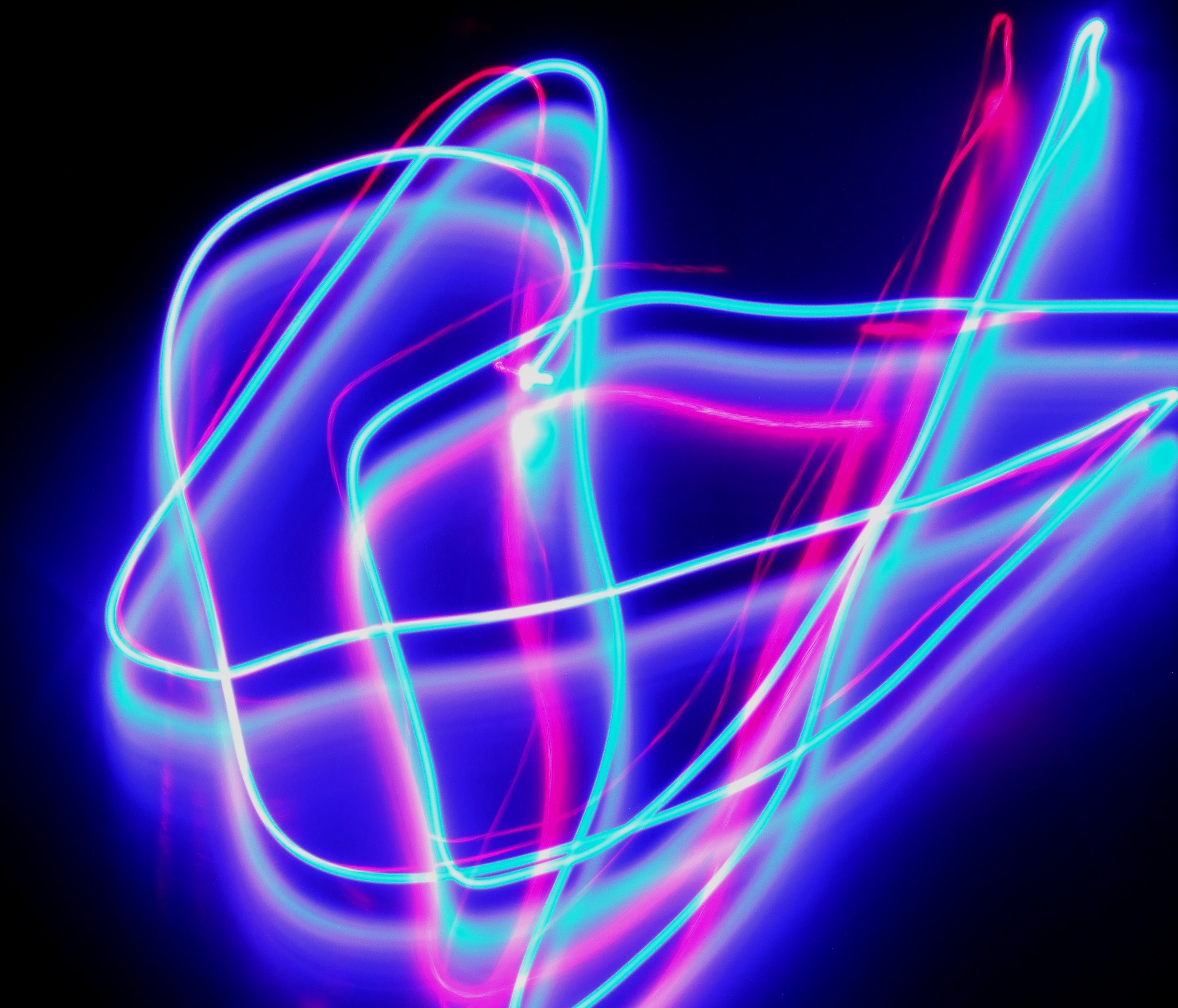2454x2099 Light Drawing Mother Moth Photography