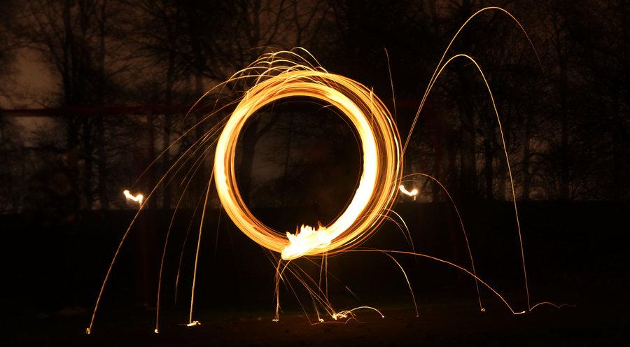 900x496 Steel Wool Light Drawing By Wakopato