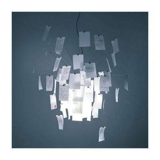 513x513 Paper Pendant Light Fixtures Note Lamp Luminaires Lights Drawing