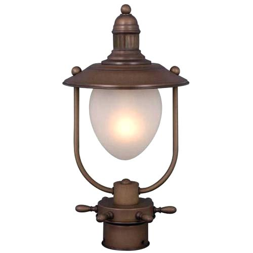 500x500 Vaxcel Nautical Lighting One Light Post Lantern Hockey Lefula.top