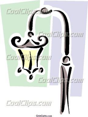 289x383 Lamppost Art Drawing
