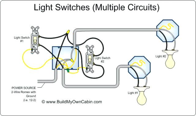 640x379 Wiring Multiple Light Switches From One Power Source Wire A Light