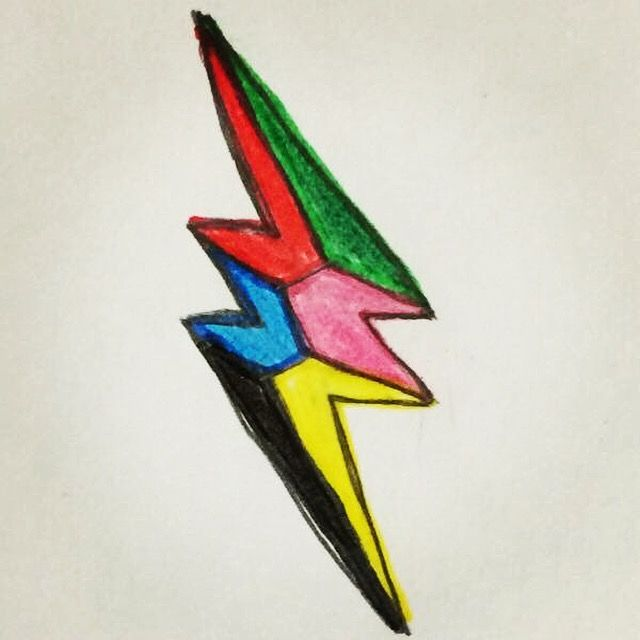 Lightening Bolt Drawing At Getdrawings Free For Personal Use