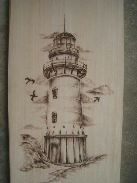 450x600 lighthouse drawings