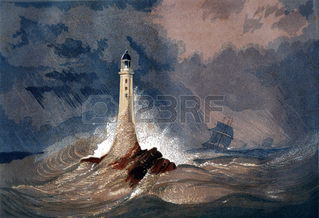 450x308 Lighthouse Drawing Stock Photos. Royalty Free Business Images