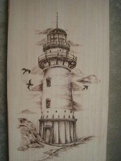 236x314 Lighthouse Drawings