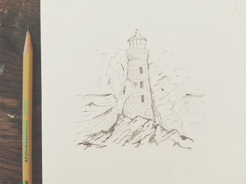800x600 Lighthouse By Joe Horacek