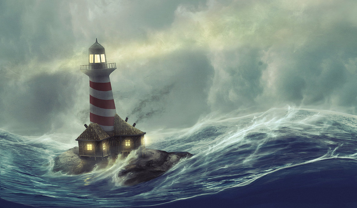 1170x682 Lighthouse Storm By Hjalmarwahlin