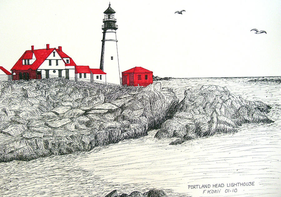lighthouses drawing at getdrawings com free for personal use