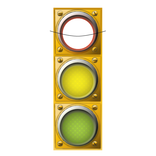 500x500 Create A Detailed Vector Traffic Light With Simple Shapes