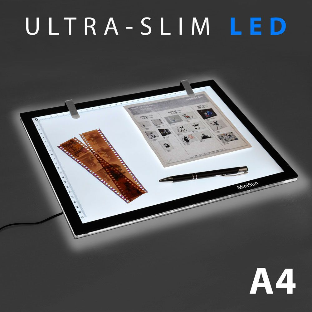 1000x1000 A4 Led Ultra Slim Art Craft Stencil Tracing Tattoo Light Box Pad