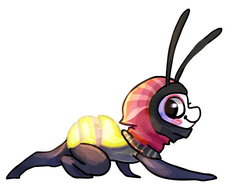 Lightning Bug Drawing at GetDrawings.com | Free for personal use ...