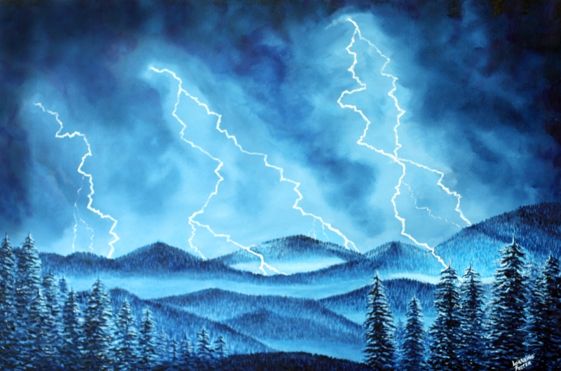 800x529 Lightning Storm, Work In Progress, Help! [Archive]