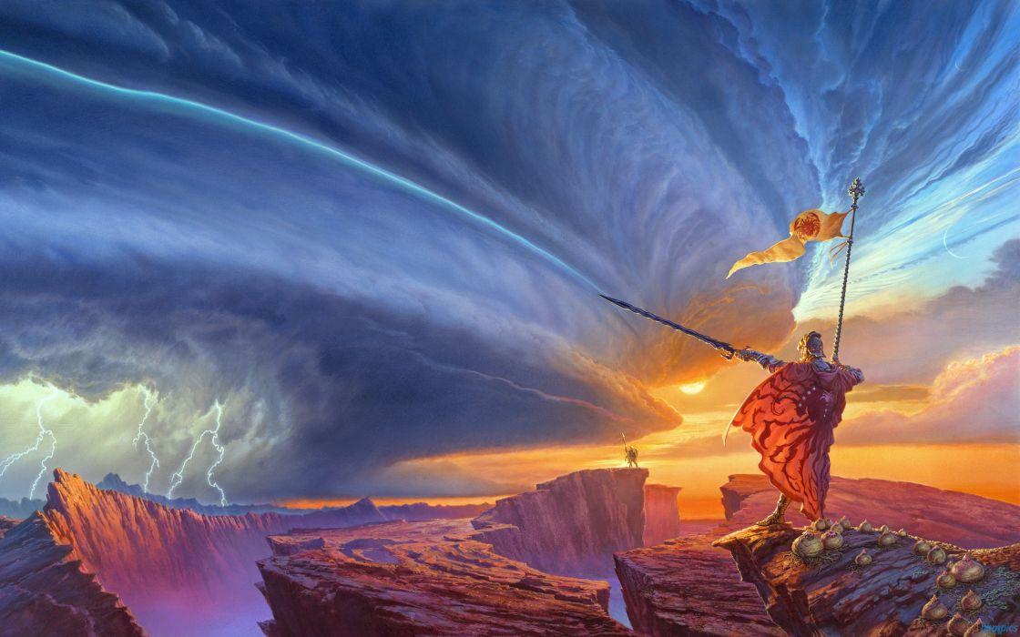 1120x700 The Way Of Kings Storm Lightning Sword Drawing Fantasdy Warrior